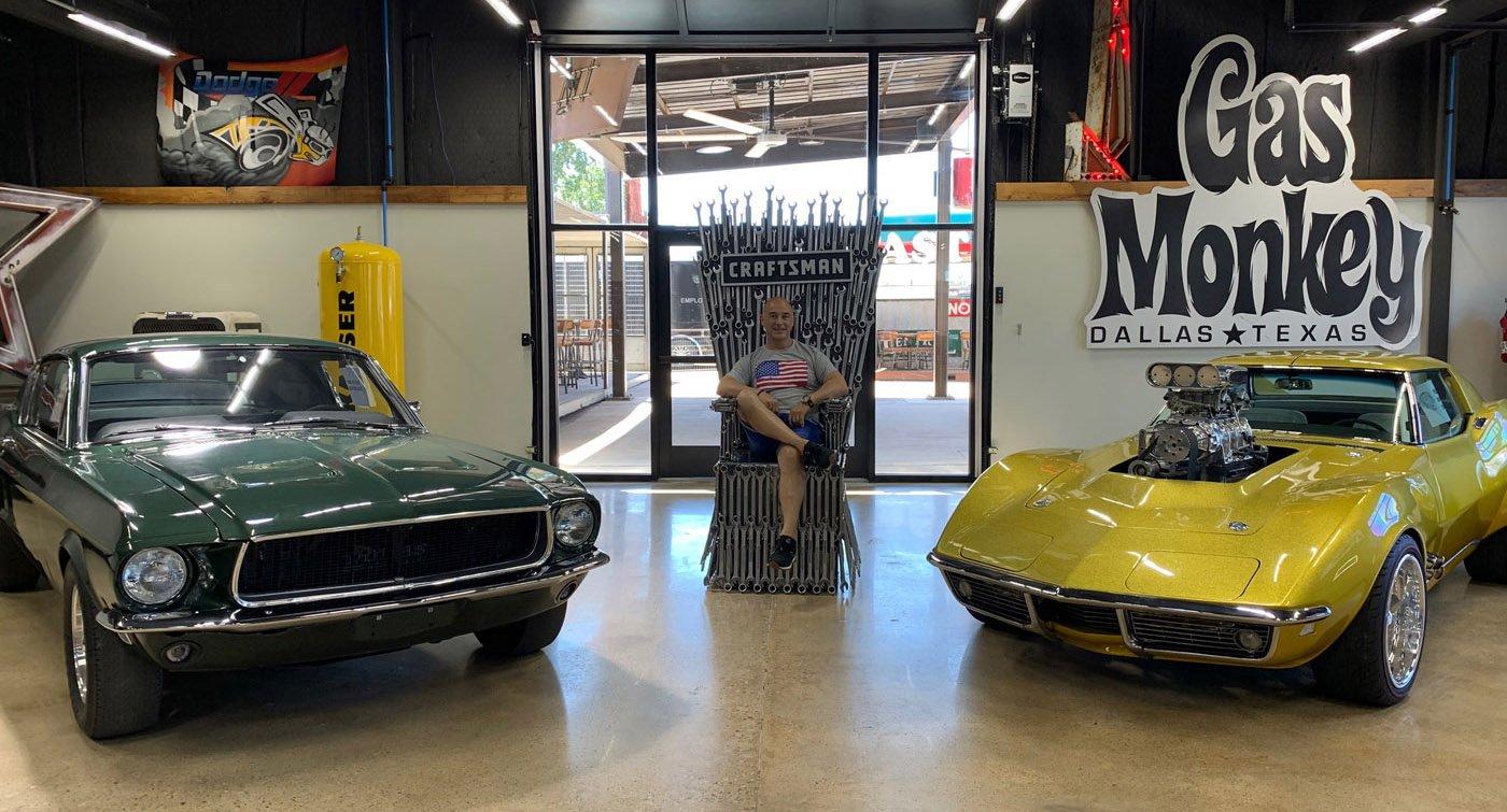 Visita Gas Monkey Garage