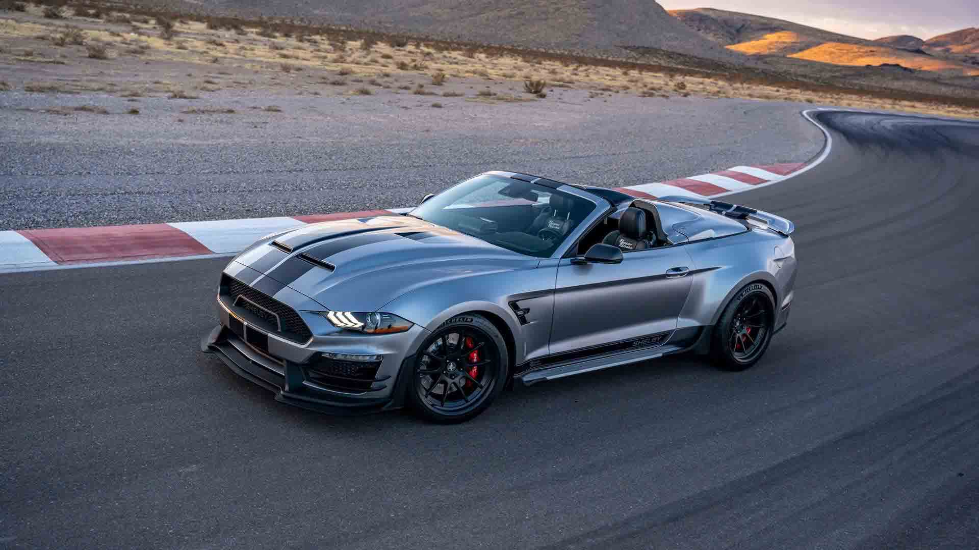 Shelby Super Snake Speedster descapotable
